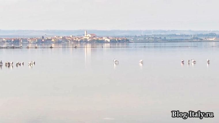 Озеро Лесина