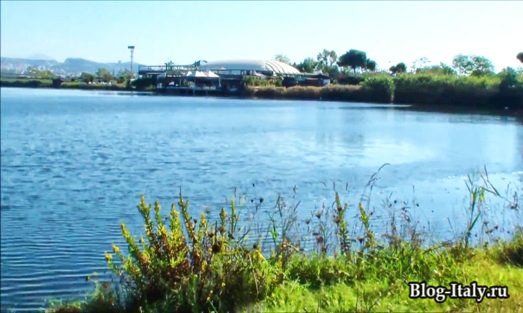 Озеро Лукрино