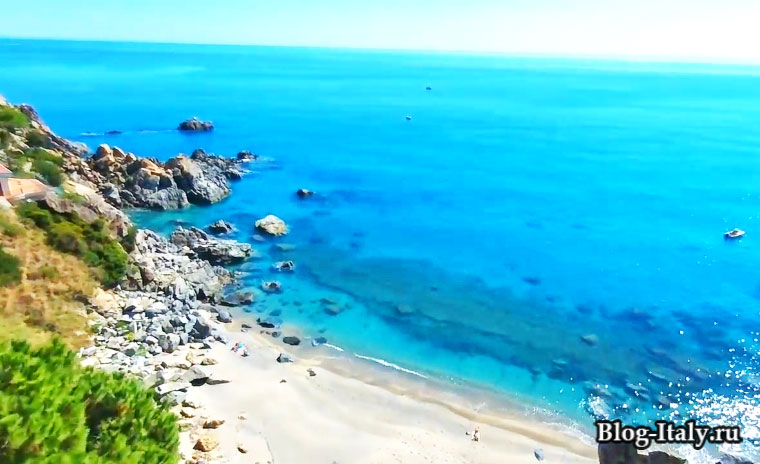 Море в Калабрии