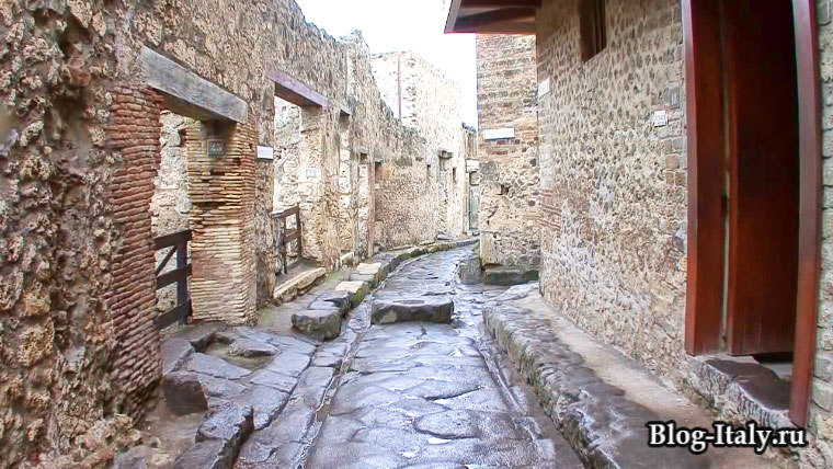 Город Помпеи улицы