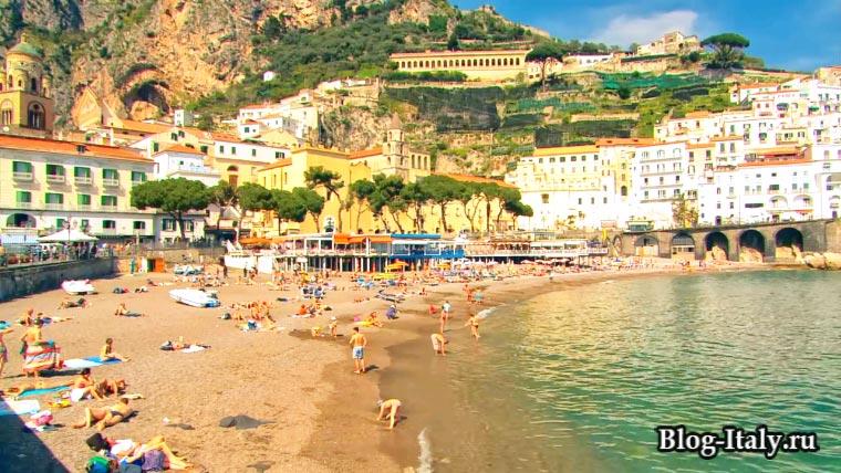 Пляж Амальфи