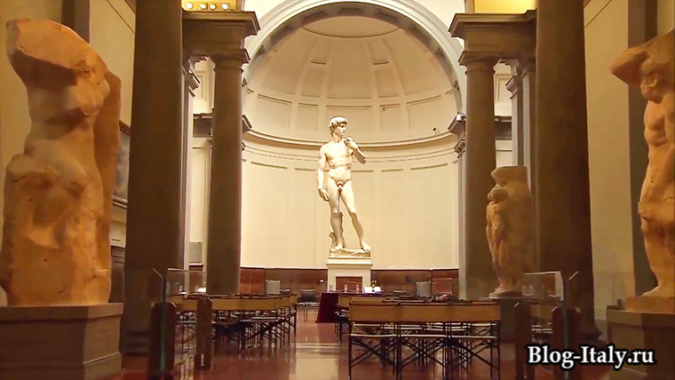 Галерея Академии, скульптура Давид