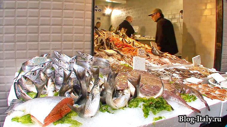 Рыбный магазин Неаполь