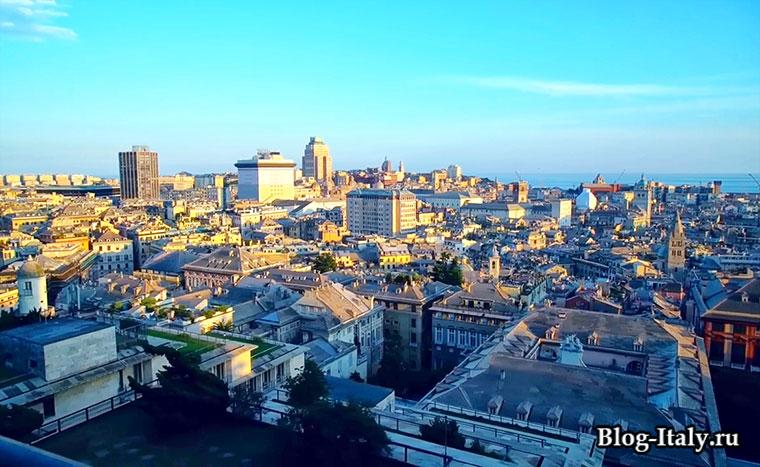 Бари вид на город