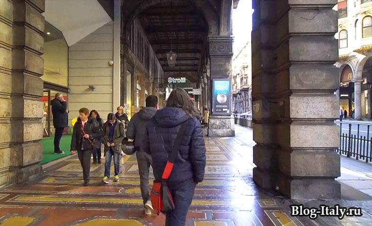 Улица 20 сентября, главная улица для шоппинга в Генуе