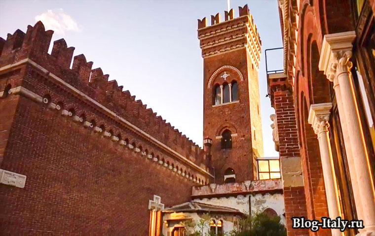Музей мировых культур или Замок д`Альбертис Генуя
