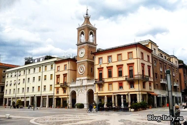 Историческое здание в Римини