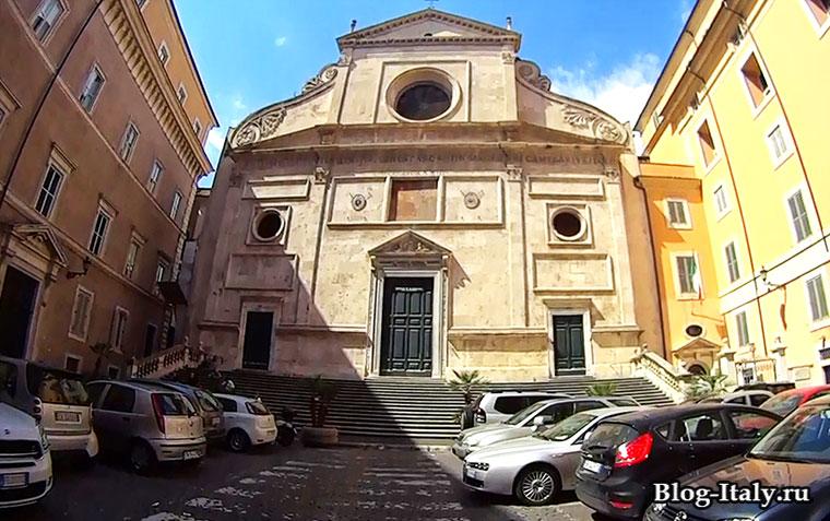 Церковь Сант-Агостино Римини