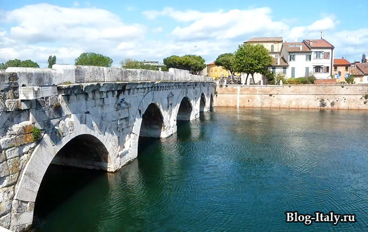 Мост Тиберия Римини