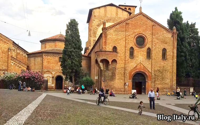 Базилика Санто Стефано - Болонья