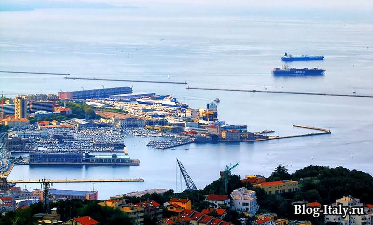 Порт в Триесте
