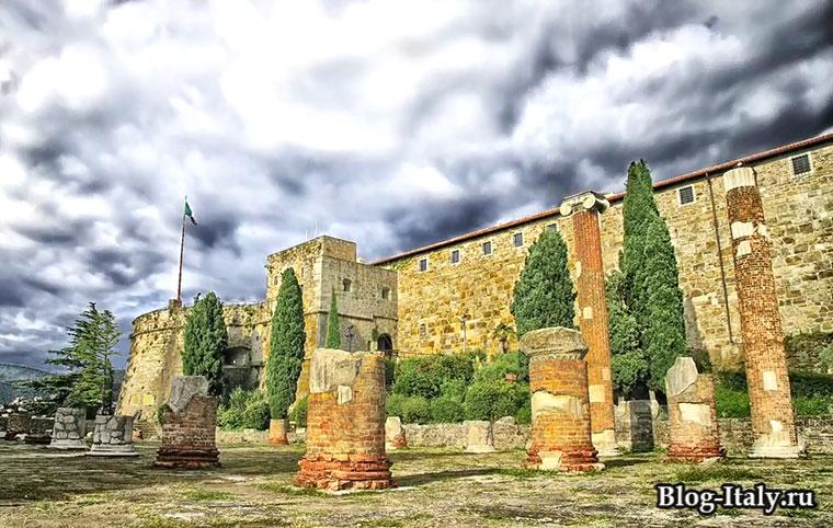 Римский театр город Триест