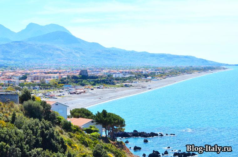 Вид на побережье Скалеи
