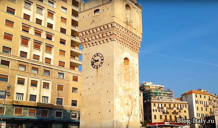Смотровая башня Леон Панкальдо в Савоне