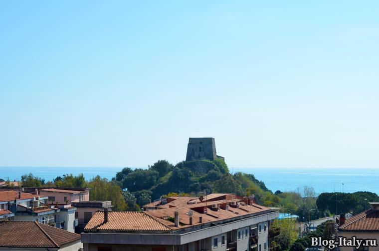 Вид на Torre Talao