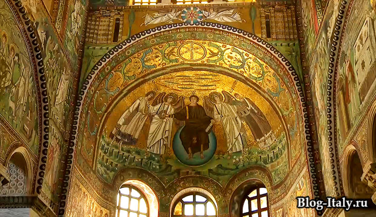 Мозаика из Базилики Сан-Витале в Равенне