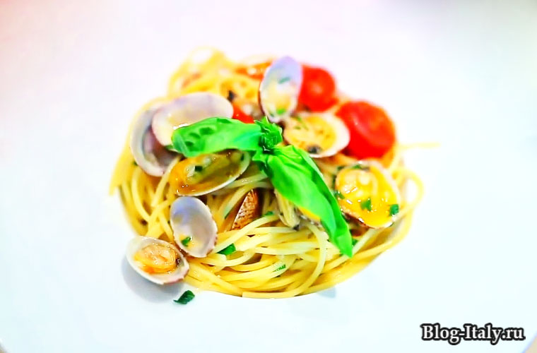 блюдо из моллюсков