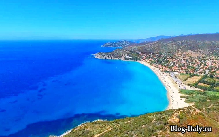 Пляжи на Сардинии