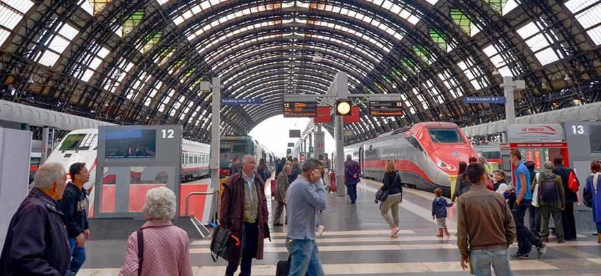 Скоростные поезда Италии