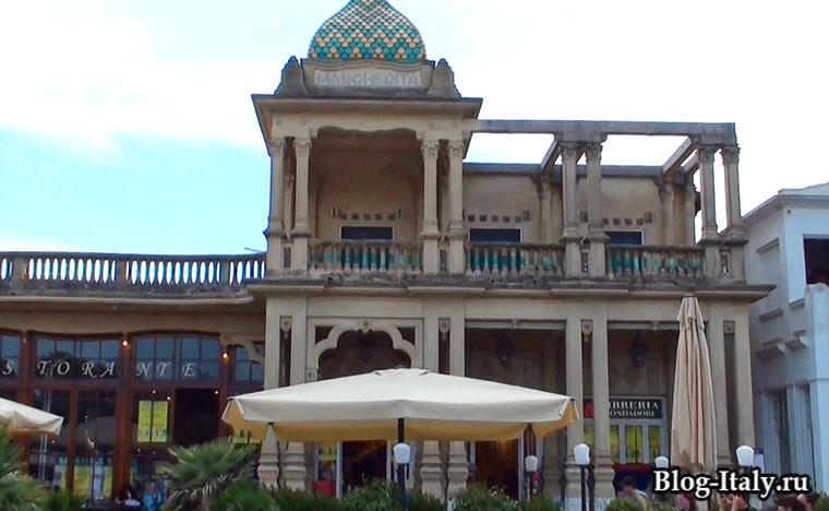 Виареджо историческое здание