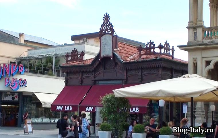 город Виареджо городское здание