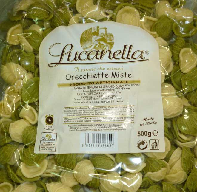 свежая паста Orecchiette (ореккьетте)