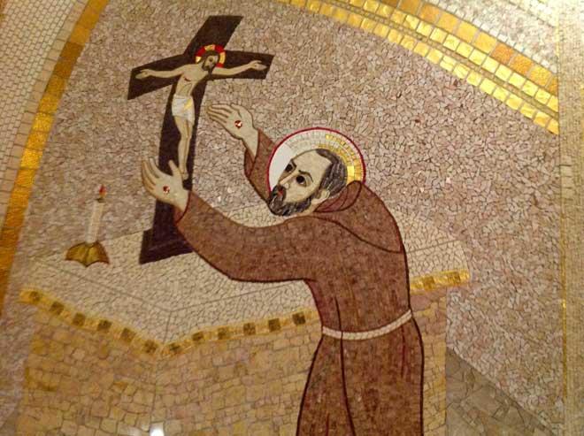 Мозаика в церкви Санта-Мария-делле-Грацие