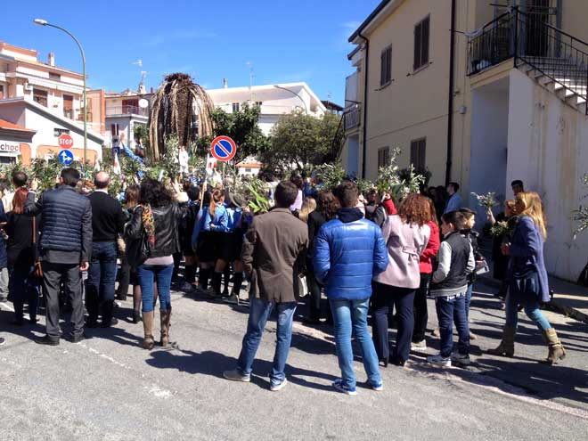 Пальмовое воскресенье в Италии