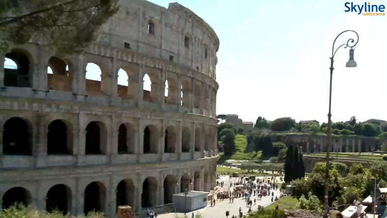 скриншот из веб камеры (Колизей)
