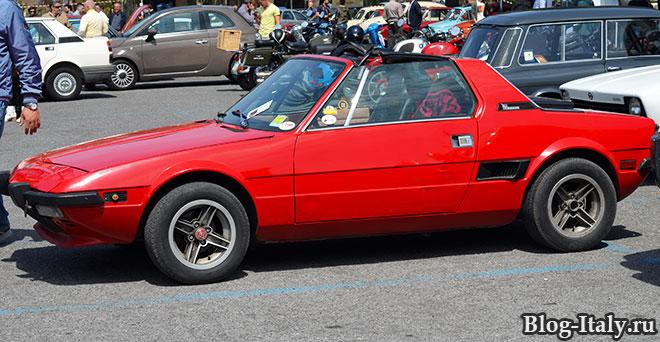 Спортивная модель Fiat
