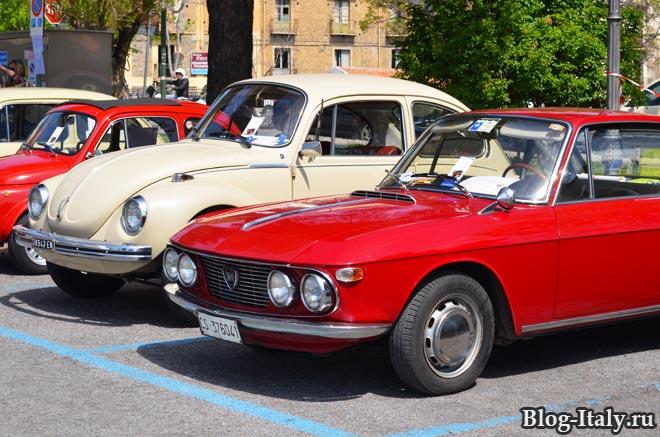 выставка исторических авто в Скалее