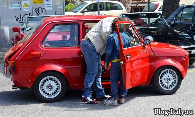 Fiat 126 в Скалее