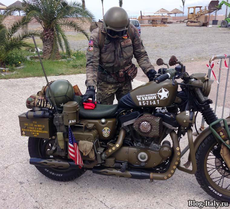 Army Moto