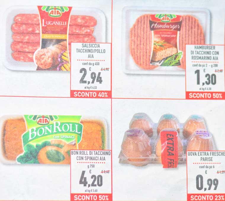 цены на продукты в Италии 2015