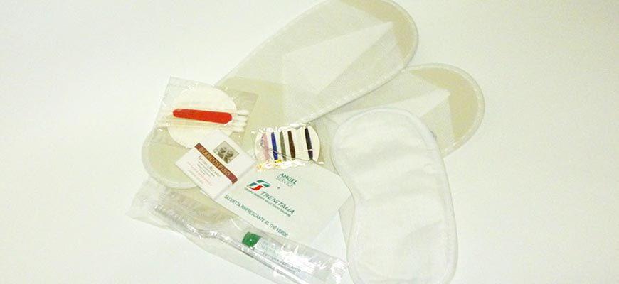 Набор с предметами для личной гигиены
