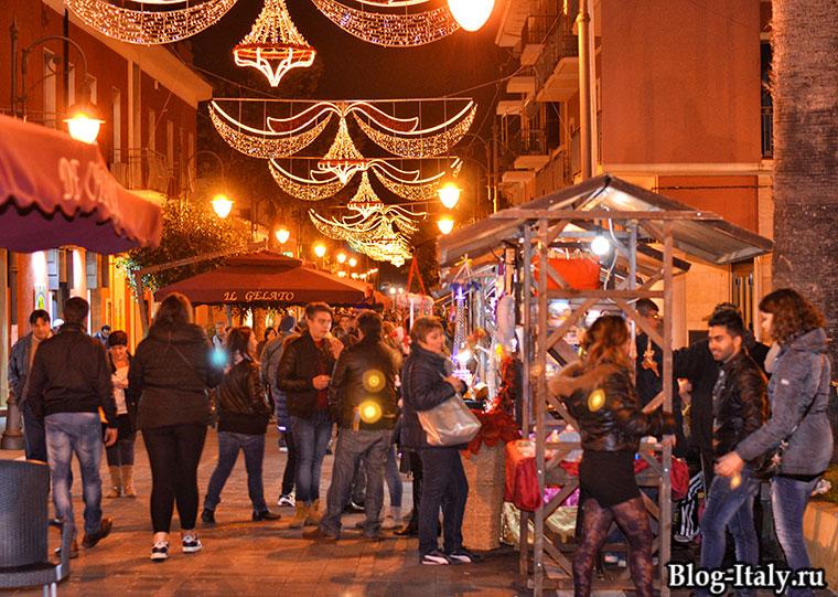 Рождественский рынок в Скалее