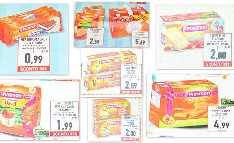 детское продукты Plasmon