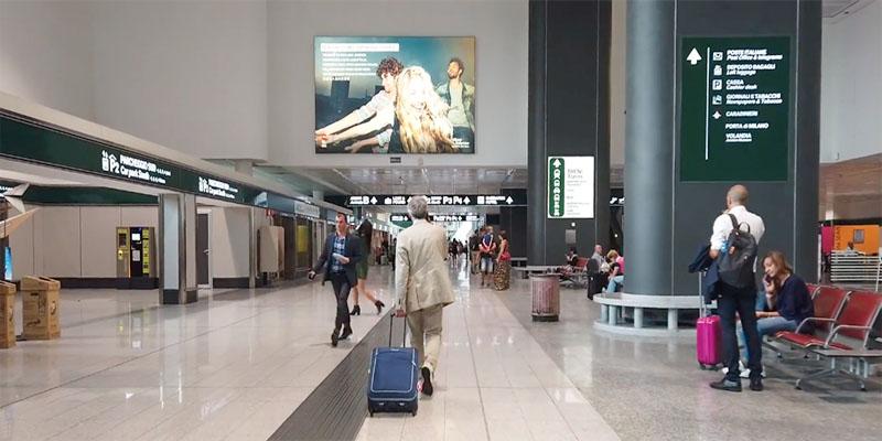 Аэропорт в Италии