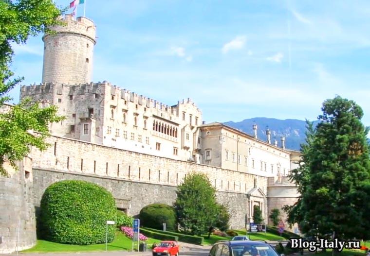 Замок Буонконсильо в Тренто