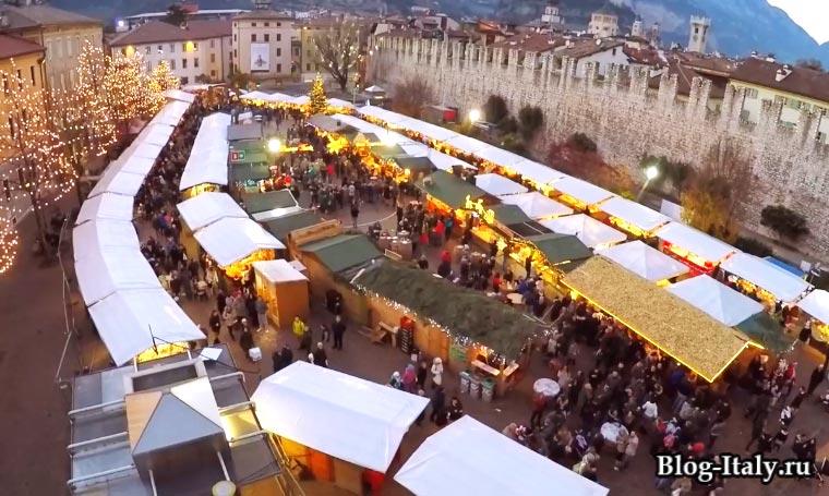 Рождественская ярмарка в Тренто