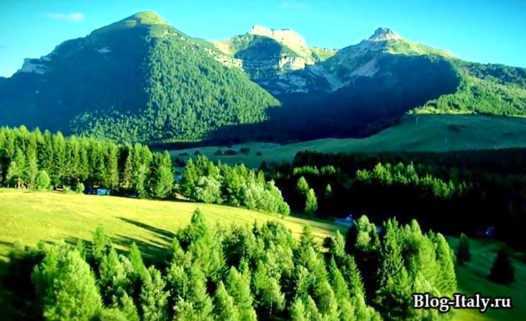 Горы-Бондоне в Тренто