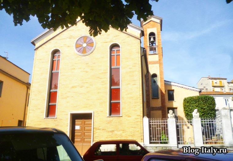 Церковь в Лагонегро