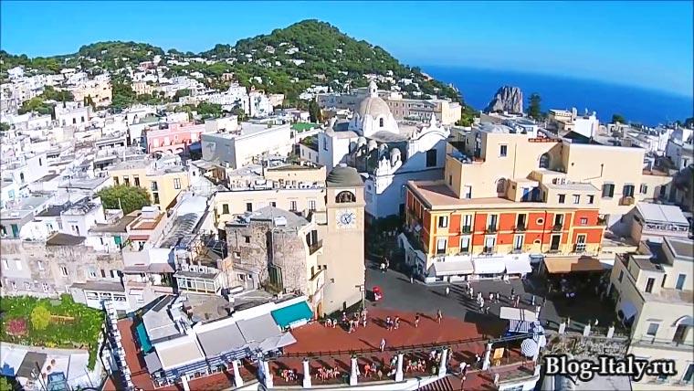 Ла Пьяццетта (La Piazzetta) Капри