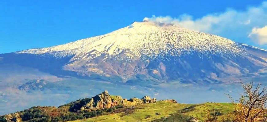 Действующий вулкан Этна - где находится, фото и видео извержения