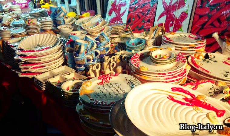 керамическая посуда в Италии