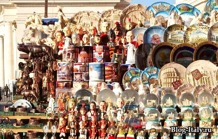 Сувениры Рим