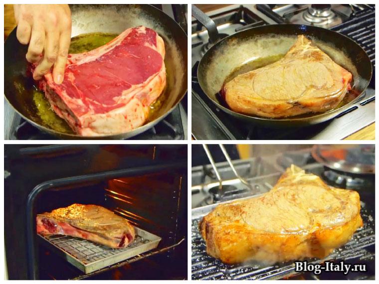 Флорентийский стейк рецепт приготовления