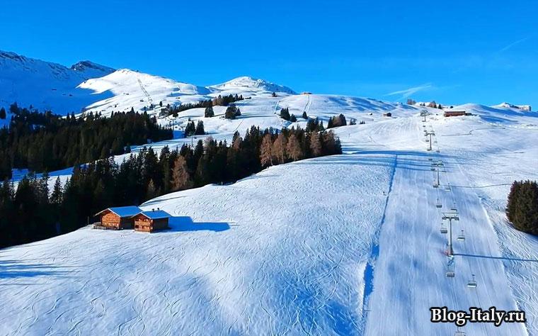 Альпе-ди-Сьюзи, горнолыжный курорт