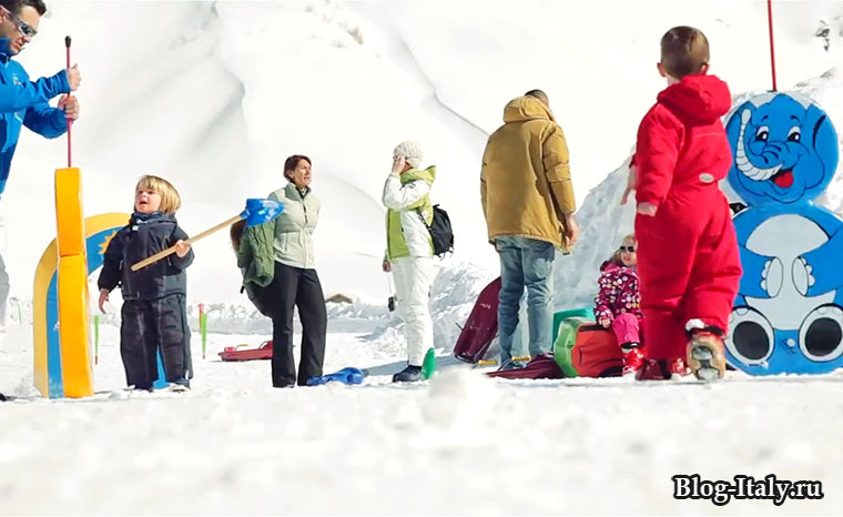 Мадезимо, горнолыжный курорт