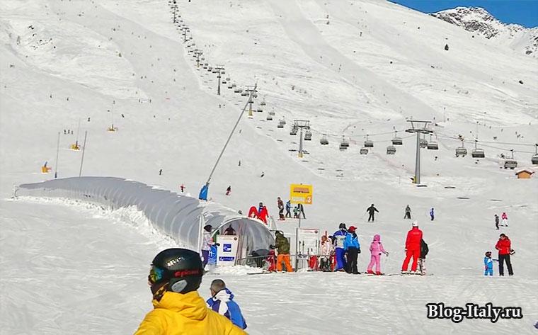 горнолыжный курорт Пассо-дель-Тонале